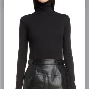 ACNE STUDIOS HIGH NECK BODYSUIT S